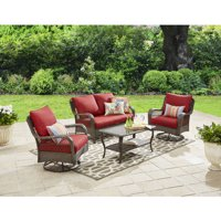 Better Homes & Gardens Colebrook 4 Piece Outdoor Conversation Set