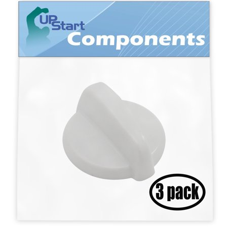 3 Pack Replacement Control Knob WB03T10282 for General Electric JCBP25DP1WW Range - image 4 of 4