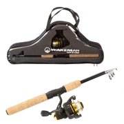 2a88032a3c7 Fishing Pole – Telescopic 5.5-Foot Carbon Fiber and Cork Rod and  Ambidextrous Reel Combo