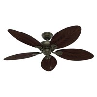 "Hunter Fan 54"" Bayview 5-Blade, Provincial Gold, 54098"