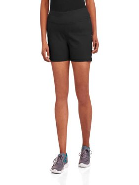 "Danskin Now Women's Plus-Size 3"" Inseam Compression Shorts"