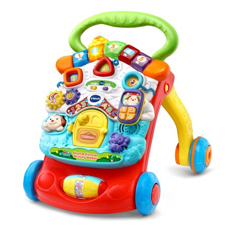 VTech Stroll & Discover Activity Walker (Best Push Toys For Walking)