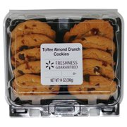 Freshness Guaranteed Toffee Almond Crunch Cookies, 14 oz