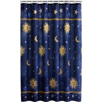 Mainstays Fabric Shower Curtain, Celestial