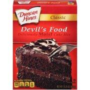 Duncan Hines Classic Devil's Food Cake Mix, 15.25 oz Box