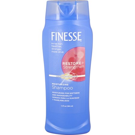 Finesse Restore + Strengthen Moisturizing Shampoo, 13 Oz Bottle