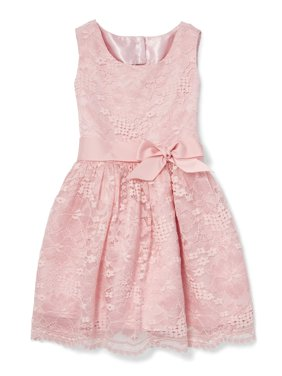 Lace Fit and Flare Easter Dress (Little Girls & Big Girls)