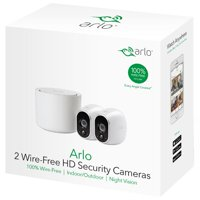 Arlo - 2-Camera Indoor/Outdoor Wireless 720p Security Camera System (VMS3230), White