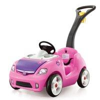 Step2 Whisper Ride II Ride On Push Car, Pink