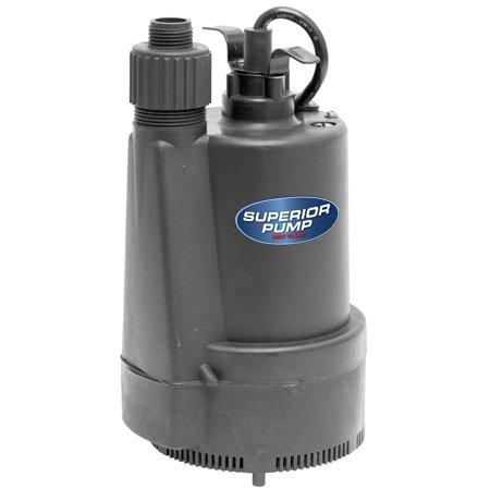 Superior Pump 1/3 HP Utility Pump (Sink Pump System)