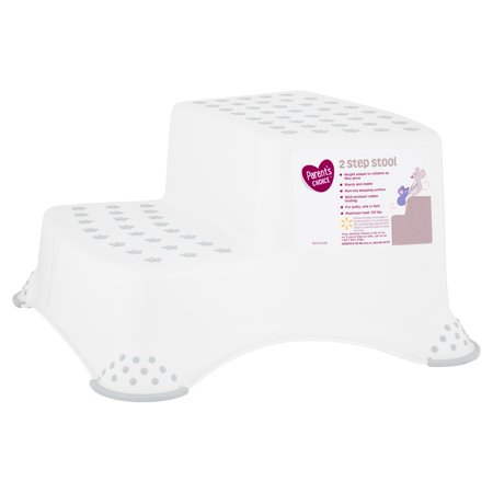 Parent S Choice 2 Step Stool Grey Walmart Com