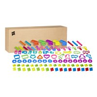 Play-Doh Assorted Tools 100 Piece School Pack in Frustration-Free Packaging