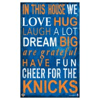 Fan Creations NBA In This House Sign