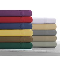 110-GSM Microfiber Solid Deep Pocket Sheet Set