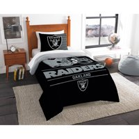 "NFL Oakland Raiders ""Draft"" Bedding Comforter Set"