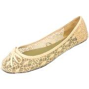 fe033f154afa Womens Canvas Crochet Slip on Shoes Flats 5 Colors 5060 Nude 7 8