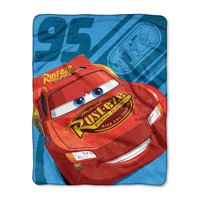 """Cars, """"Ride the Circuit"""" Silk Touch Throw Blanket, 40""""x 50"""""""