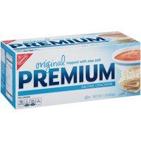 (2 Pack) Nabisco Premium Saltine Crackers, Original, 16 Oz