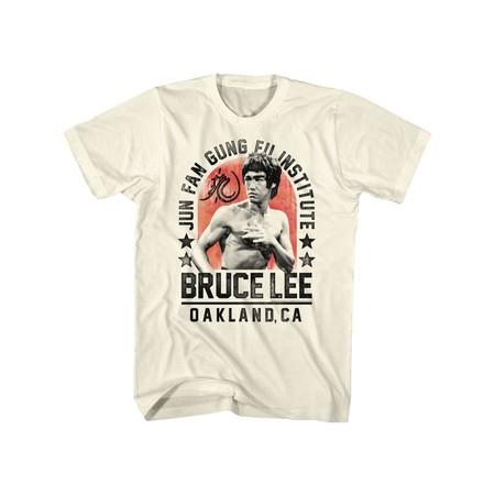 Bruce Lee Chinese Martial Arts Icon Jun Fan Gung Fu Institute Adult T-Shirt (Jun Fan Gung Fu Institute T Shirt)