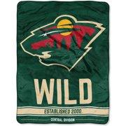 "NHL Minnesota Wild ""Breakaway"" 46""x 60"" Micro Raschel Throw 4be658873"