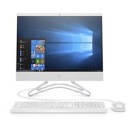 "HP 22-c0063w All-in-One, 21.5"" FHD Display, Intel Celeron G4900T, 1TB HDD, 4GB RAM, Windows 10, White"