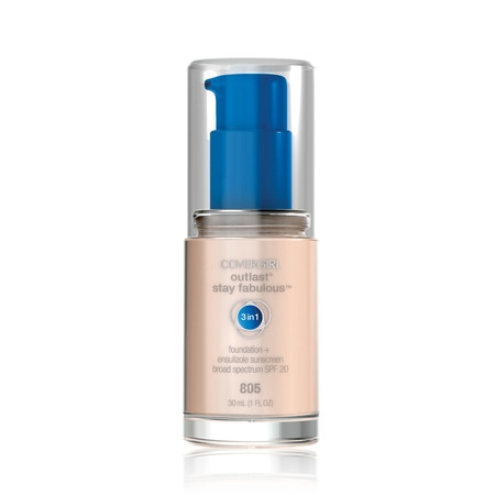 COVERGIRL Outlast All-Day Stay Fabulous 3-in-1 Foundation, 805