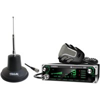 Uniden Bearcat 880 40-Channel CB Radio With 7-Color Display Backlighting and Tram 3500 Heavy-Duty Magnet-Mount CB Antenna Kit