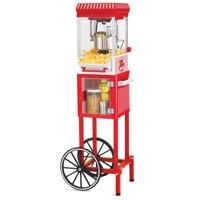 "Nostalgia KPM200 CART 48"" Tall Vintage Collection 2.5 oz Popcorn Cart"