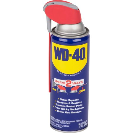 WD 40 Multi Use Lubricate With Smart Straw, 12 Oz