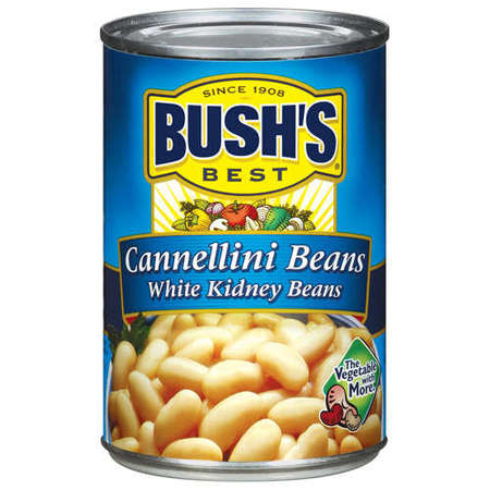 (6 Pack) Bush's Best White Kidney Cannellini Beans, 15.5 - White Kidney