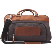 1c1bbdd0e1c1 Canyon Outback Brody 18-inch wide Wool and Leather Duffel Bag