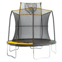JumpKing 8-Foot Trampoline, with Toss Ball Game