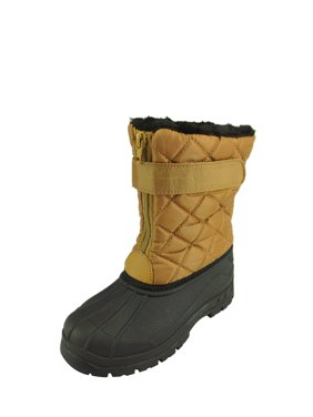 The Doll Maker Quilted Snow Boot-FBA1641710B-2