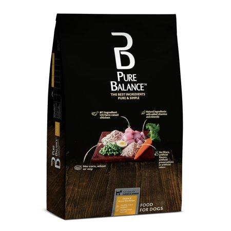 Pure Balance Chicken Brown Rice Recipe Dry Dog Food 30 Lb