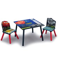 Disney Pixar Cars Kids Wood Table and Chair Set by Delta Children