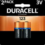 Duracell 3V High Performance Lithium Battery 123 2 Pack