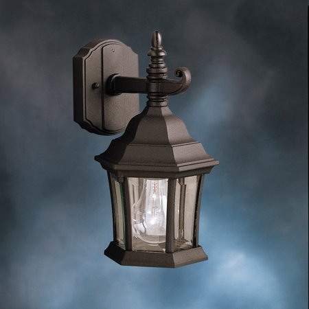 Kichler Outdoor Plastic Fixture (Kichler Townhouse 9788 Outdoor Wall Lantern - 6.5 in.)