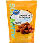 (2 Pack) Great Value Dry Roasted & Light Salted Almonds, 14 oz