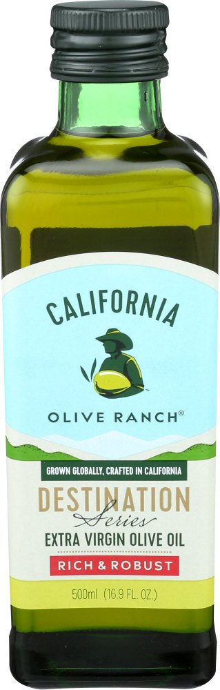 California Olive Ranch Rich & Robust Extra Virgin Olive Oil (Destination Series), 16.9 FL OZ - California Costumes.com