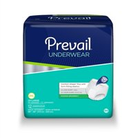 Prevail Extra Absorbency Underwear, 2X-LARGE, Maximum Absorbency Pull On, PV-517 - Case of 48