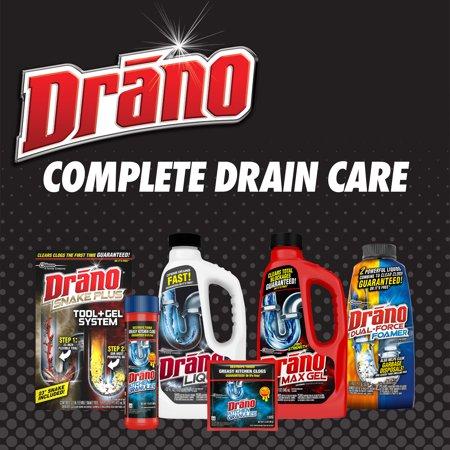 Drano Dual-Force Foamer Clog Remover, 17 fl oz - Best Drain