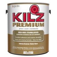 KILZ Premium High-Hide Stain Blocking Interior/Exterior Latex Primer/Sealer