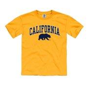 9e48c119ef4ec California Golden Bears Youth T- Shirt- Gold