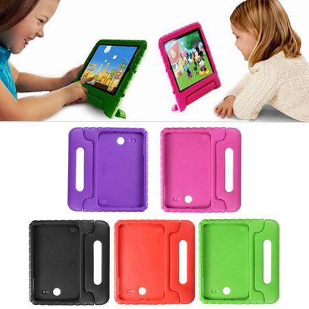 1Pcs For Galaxy Tab E 9.6inch Case , Child Kid EVA Shockproof Thick Foam Stand Kickstand Hard Case Protective Case Cover Handle Stand for $<!---->