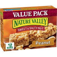 Nature Valley Granola Bar, Snack, Sweet and Salty Bar, Peanut 12 Bars