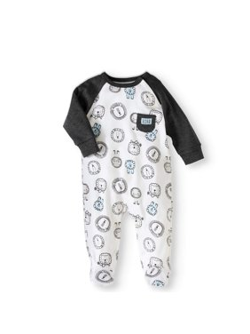 Newborn Baby Boy Footed Coverall One Piece Romper