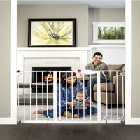 Regalo Extra Wide Easy Step 49-Inch Baby Gate, Includes Pressure Mount Kit and Wall Mount Kit