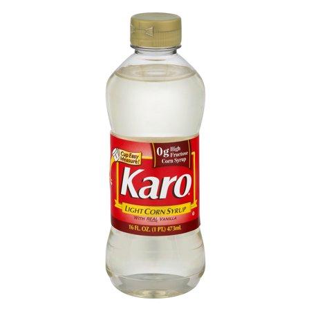 Karo Light Corn Syrup With Real Vanilla 16 Fl Oz Walmart Com