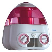 Vicks Starry Night Cool Mist Humidifier, V3700M, Pink