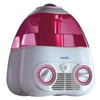 Vicks Starry Night Cool Moisture Humidifier V3700M, Pink